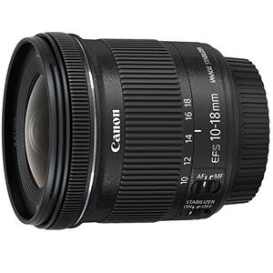 Objetivo gran angular Canon EF-S 10-18 mm f:4.5-5.6 IS STM